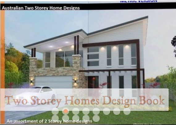 Two Storey House Design Book  OVER 50 2 by AustralianHousePlans