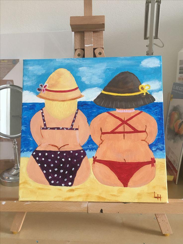 Op het strand (3)