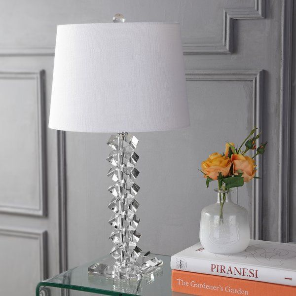 Claremont 26 Table Lamp With Images Lamp Led Table Lamp Crystal Table Lamps