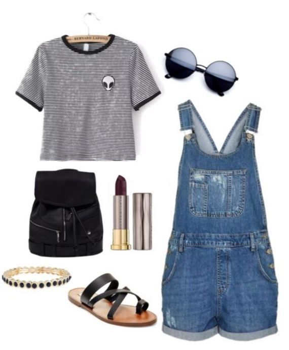 20 First Day Of School Outfit Ideas For College Girls – Summer fashion/last day of school, gigi