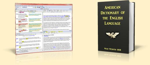 Bible Software with Dictionary