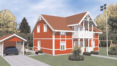EkoHus - Villa Nättraby