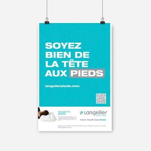 Langelier / Affiche promotionnelle / Beez Créativité Média