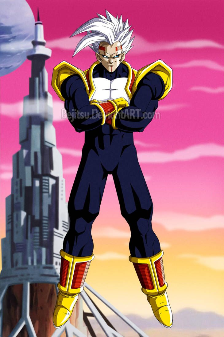 Dragon Ball Gt Baby Vegeta Final Form By Bejitsu Dragon Ball Super Manga Dragon Ball Super Goku Anime Dragon Ball Super