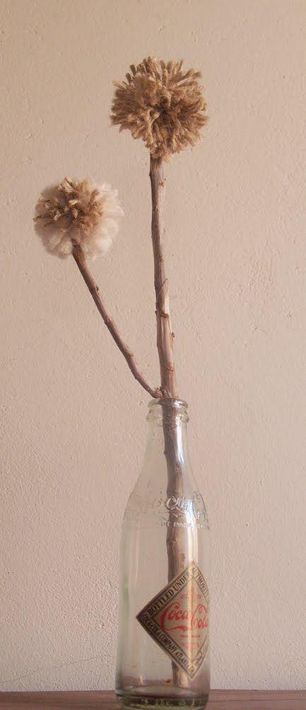 """miramira : """"Aprendiendo de todo un poco"""" DIY Pompones #DIY #pompon #handmade"""