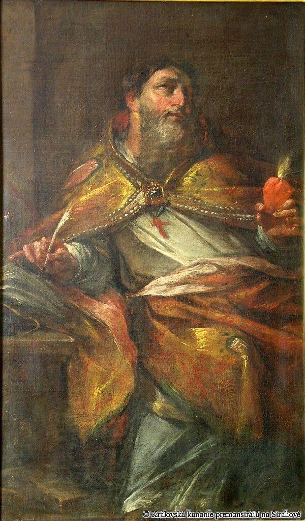 Jan Kryštof Liška / Sv. Augustin / kolem 1700