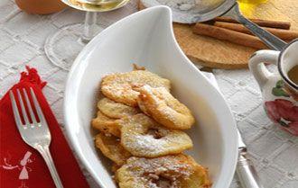 Une recette de délicieux beignets aux pommes avec un petit goût subtil de cidre : ils feront sensation pour le goûter ou le dessert.