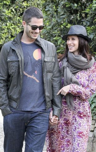 New parents Jennifer Love Hewitt and Brian Hallisay are also newlyweds. (FameFlynet)