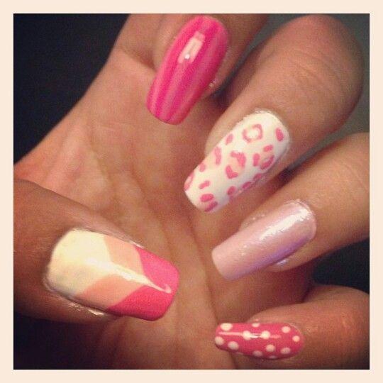 Youtube inspired pink nails #minijagtboe