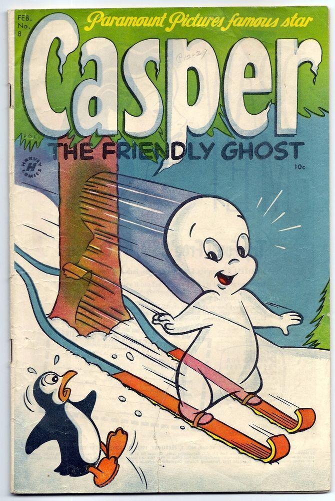 Casper The Friendly Ghost #8 (#2) Good+/Very Good Feb  1953 | Casper