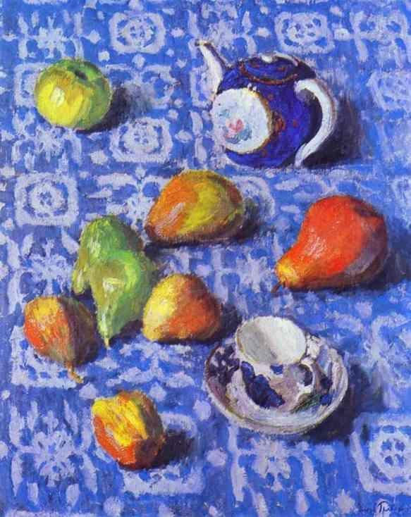 Igor Grabar: Pears, Still Life, 1915