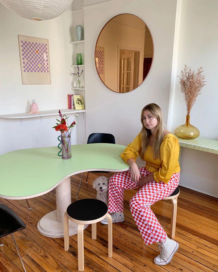 Muse Monday: Zoe Cohen - Lisa Says Gah Pastel Room, Pastel House, Room Ideas Bedroom, Bedroom Decor, Deco Studio, Pastel Interior, Dream Apartment, Aesthetic Room Decor, Küchen Design