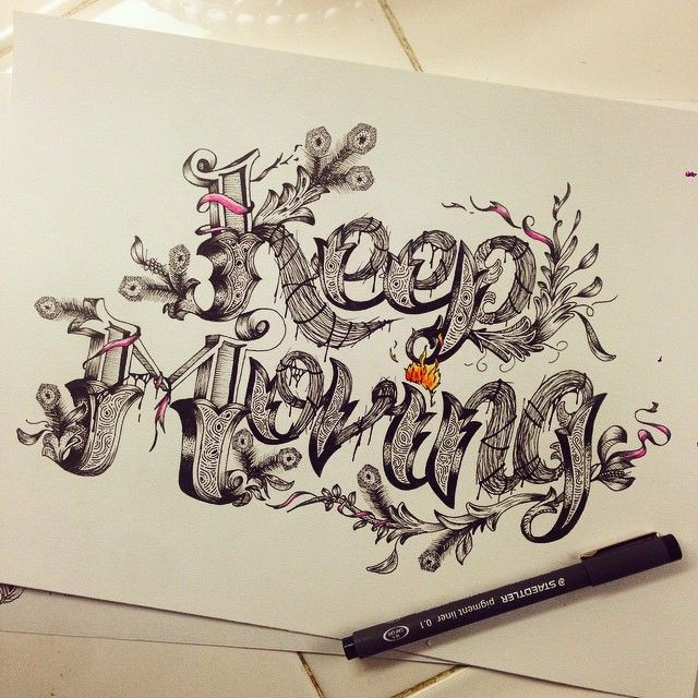 lettering by Steven Sarmiento