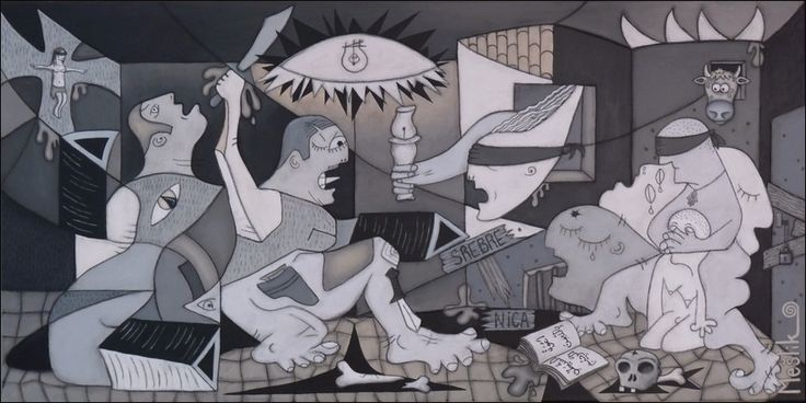 picasso guernica style Les demoiselles d'avignon, guernica, and more iconic art share  picasso had an eclectic attitude to style, and although, at any one time, his work was usually.