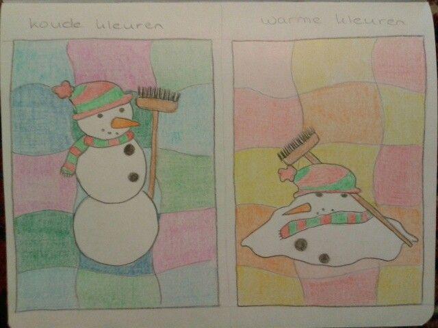 Warme en koude kleuren tekenlessen en idee n basis pinterest warme kleuren rechte - Koude en warme kleur ...