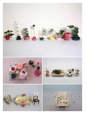 Sabine Timm's interiors. Frankie Magazine, Jul-Aug-12