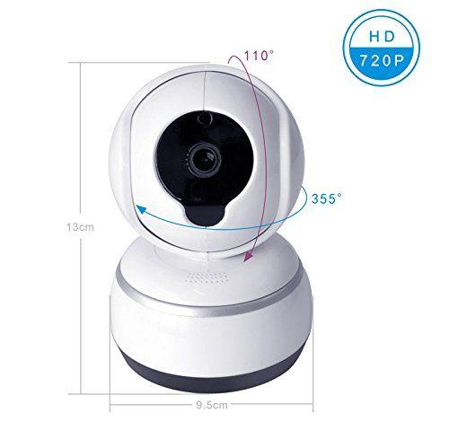 Baby Camera IOS/Android APP Remote Control Camera, WIFI