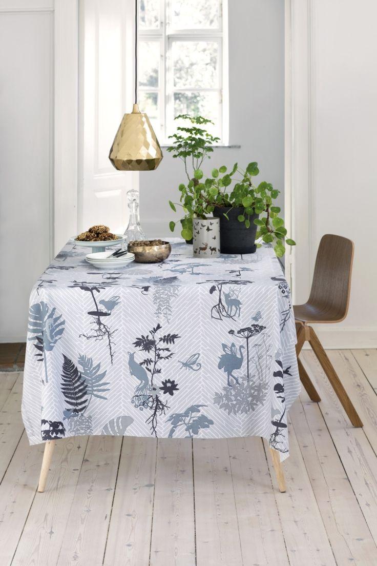 #rikkitikki #Susanneschjerning #tablecloth #morph #grey #decoration #news #AW15
