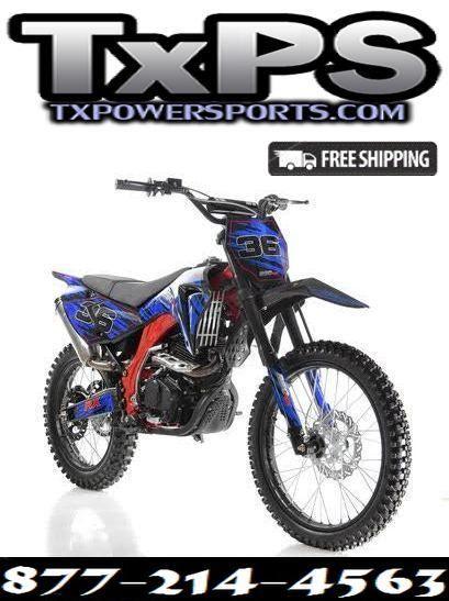 Special Edition Apollo DB-36 250cc Dirt Bike - Free Shipping. Sale Price: $1,549.00