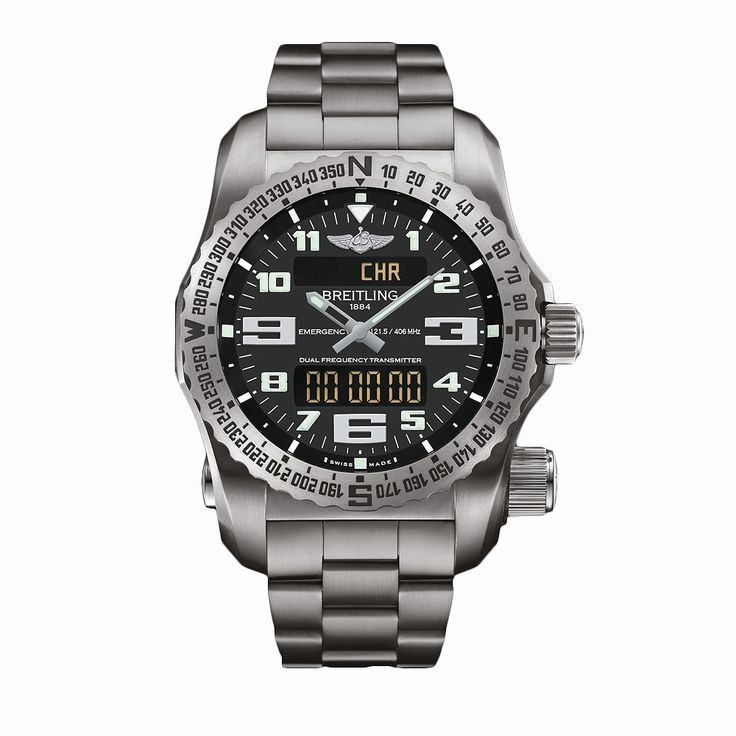 #Breitling Emergency Titanium #Watch