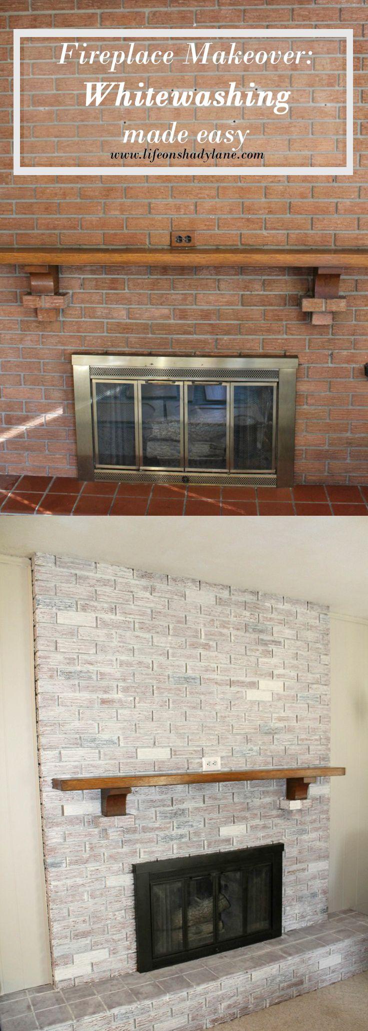 Best 25+ Brick fireplace redo ideas on Pinterest | Brick ...