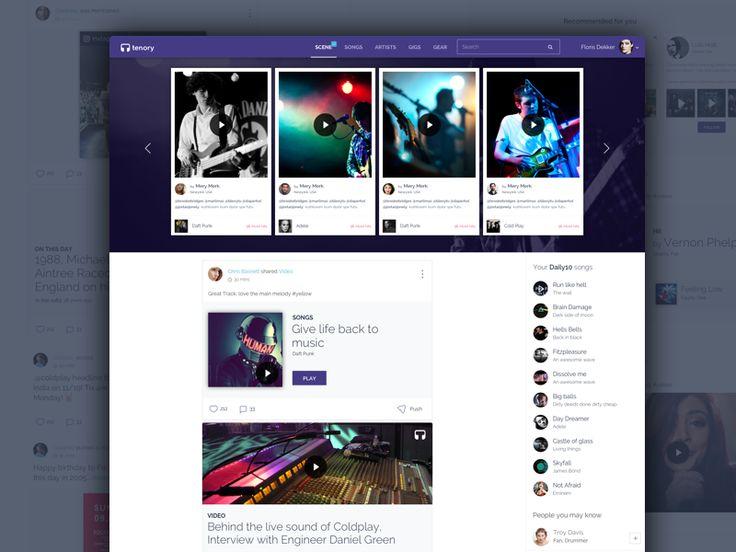 Tenory - The Music Community - website by pramod kabadi