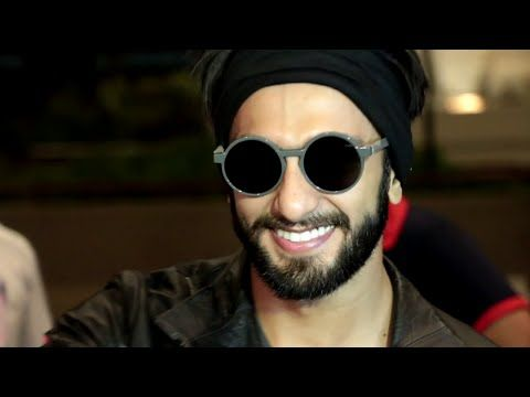 Ranveer Singh MOBBED by fans at Mumbai airport while leaving to Europe.