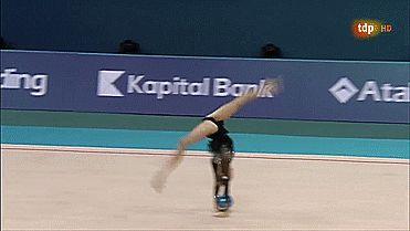 Yana Kudryavtseva, Ball, European Championships Baku 2014