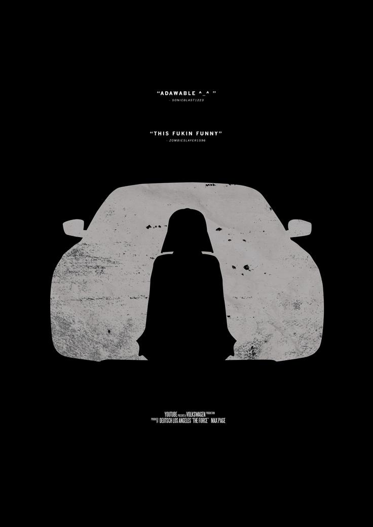 The Force - Viral Video Movie Poster from Retina Burn Blog http://www.retinaburnblog.co.uk