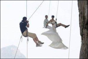 Foto Wedding Ekstrim Di China