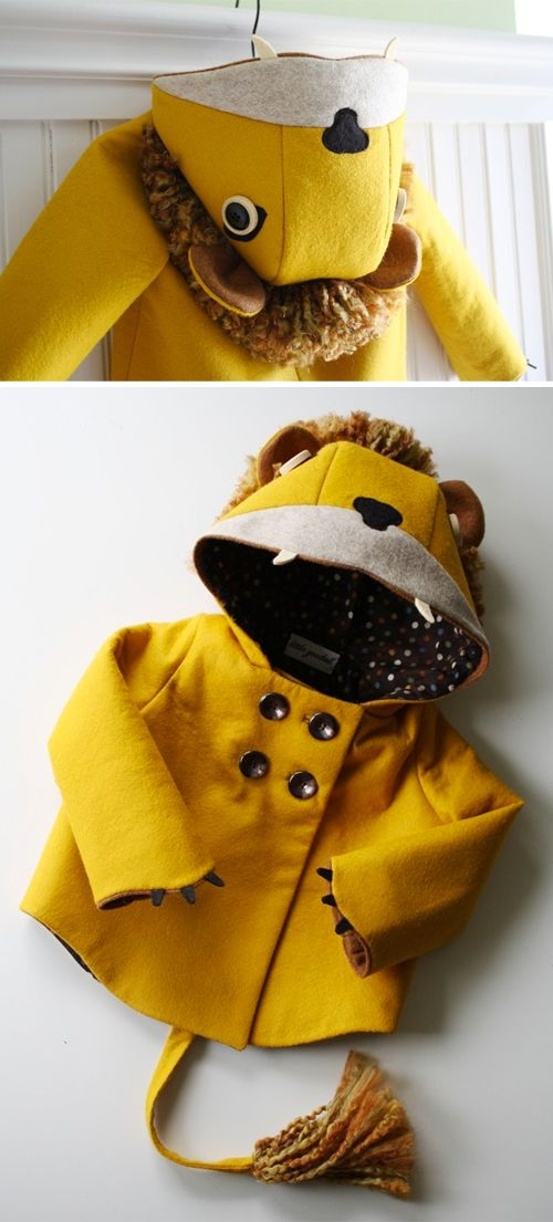 AMAZING Lioin Jacket! Have to make this!