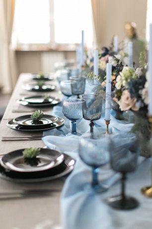 Сервировка для камерной свадьбы