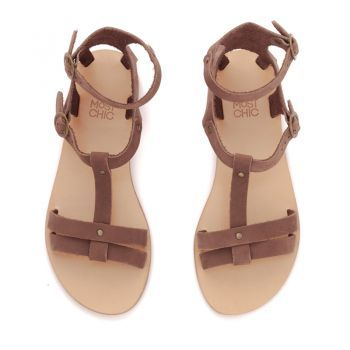 the ''dalia'' in coffee …the Most Chic sandals collection