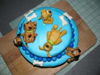 Homemade By Heather 33: Puppy Birthday Cake
