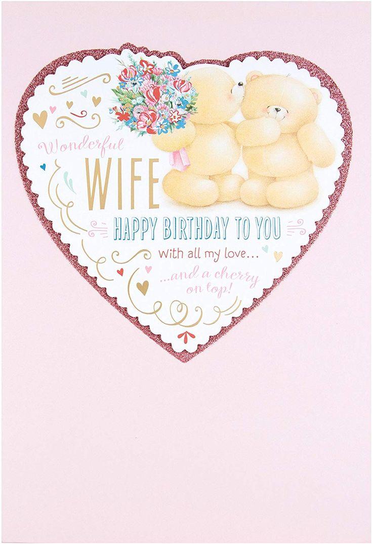Hallmark forever friends wife birthday card all my love