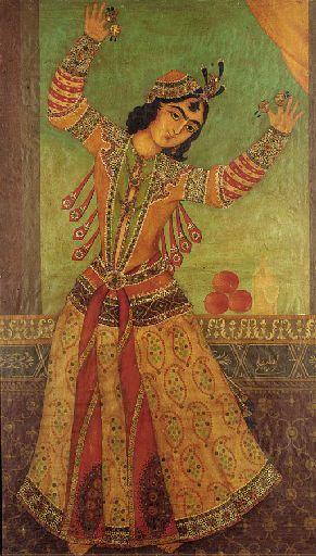 Dancer Qajar Persia, 19th Century