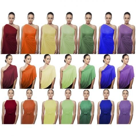 HIPKNOTIES Multi Way Garment