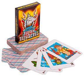 Giftman Карты игральные 'пиратские',5х7,5см  — 21 руб.  —  Карты игральные 'пиратские',5х7,5см