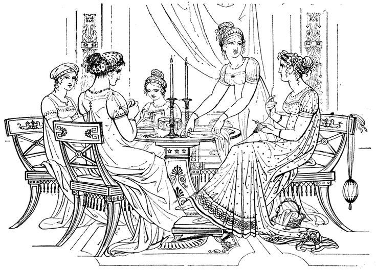vintage dress coloring pages | Victorian House Coloring Page | These are vintage dress ...