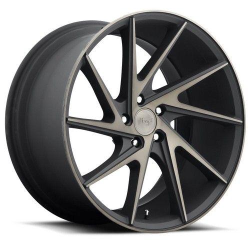 "20"" Niche Wheels M163 Invert Black Machined Rims *Free Shipping #AudioCity"