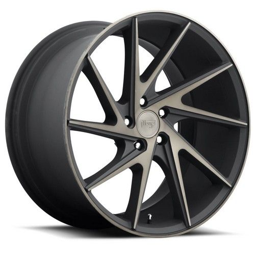 "20"" Niche Wheels M163 Invert Black Machined Rims *Free Shipping #AudioCity"