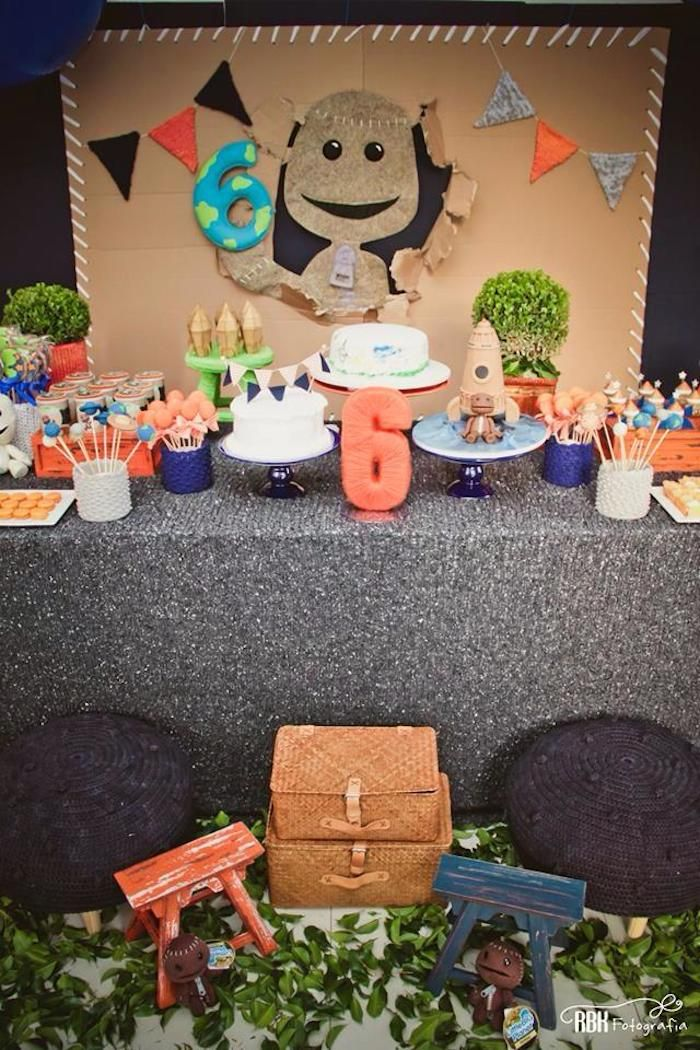 Little Big Planet themed birthday party