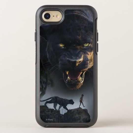 The Jungle Book | Push the Boundaries OtterBox Symmetry iPhone 8/7 Case. Black panther #ad