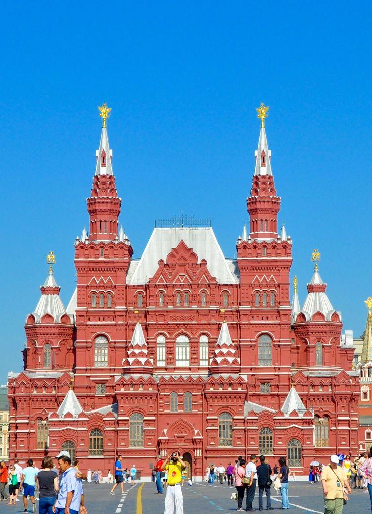 Mosca: il Museo Storico sulla Piazza Rossa