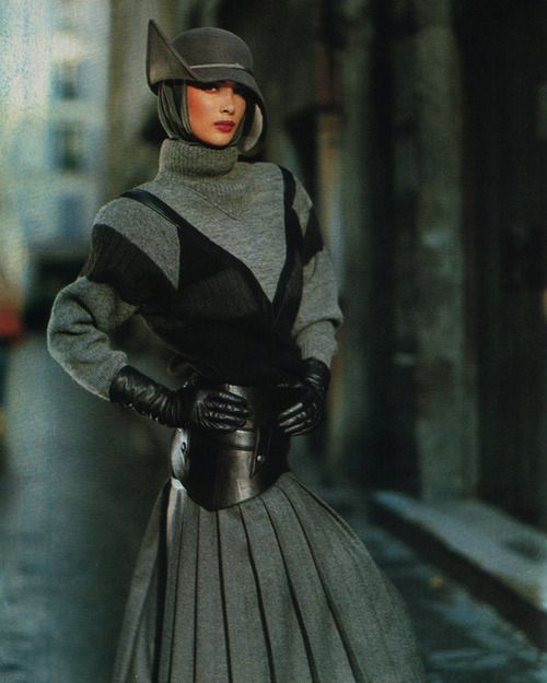 Claude Montana, American Vogue, September 1983.