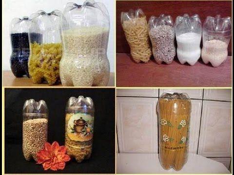 Нужные поделки из пластиковых бутылок  Поделки своими руками - YouTube