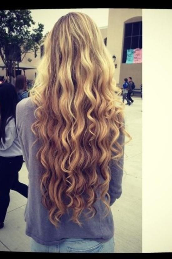I wonder if my hair will ever really get this long..