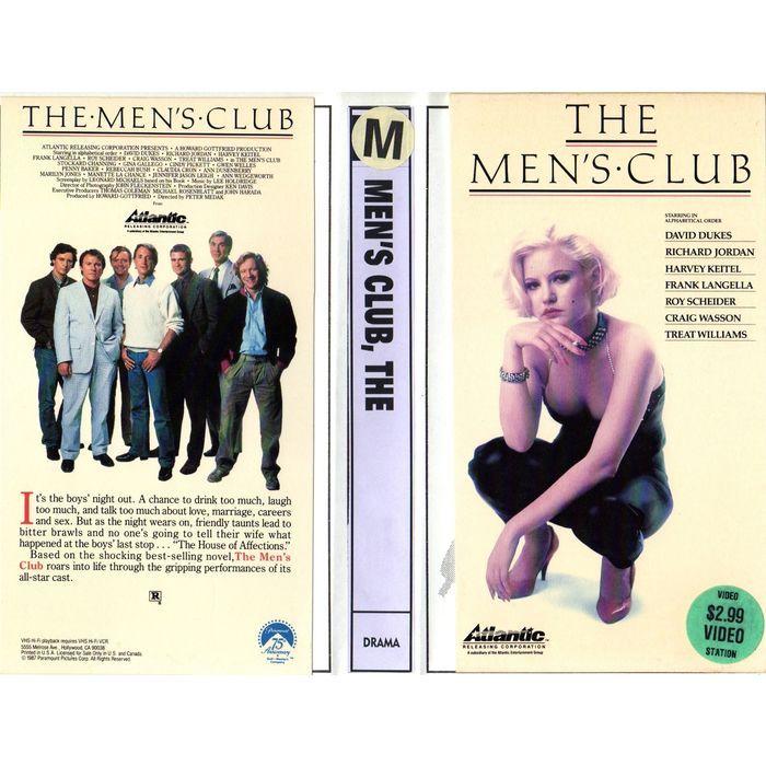 """THE MEN'S CLUB"" VHS with ROY SCHEIDER, JENNIFER JASON LEIGH, PLAYBOY PLAYMATE PENNY BAKER etc. Buy it on eBid Canada | 151874423"