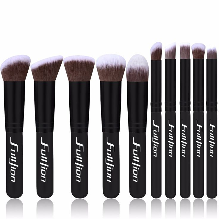 New 10 piece makeup brush set. Perfect Christmas gift idea for teen or stocking stuffer.