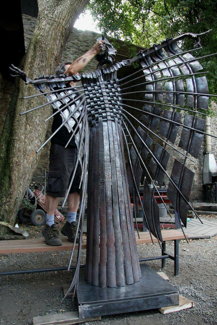 Claudio Bottero Blacksmith In 2019 Metal Art Metal